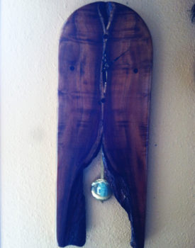 hawaiian-koa-wood-pendulum-chime-clock